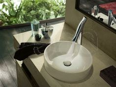 Philippe Starck Wastafel : Philippe stark faucets: axor starck organic by hansgrohe bathroom