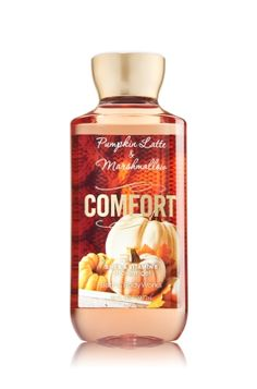 Body Wash - Pumpkin Latte and Marshmallows - http://www.bathandbodyworks.com/product/index.jsp?productId=41813766