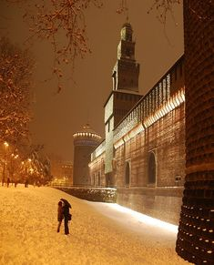 Sforza Castle - Milan, Lombardia. For more Italy trave tips, visit our website at www.touritalynow.com.