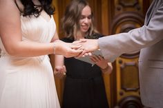 Photographer Liz Caruana captures the intimate moments of the wedding ceremony beautifully.