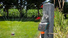 Amazing Water Systems For Garden Collection - Garden Water - Gardenflower. Sprinkler System Design, Water Sprinkler System, Water Irrigation System, Lawn Irrigation, Grey Water System, Water Systems, Best Lawn Sprinkler, Water Collection System, Garden Watering System