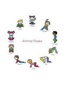 Kids Yoga Book: My First Yoga Animal
