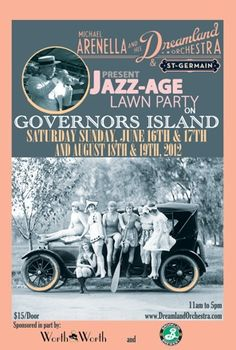 Jazz Age iconography | Jazz Age Lawn Party | Love it ? Create your own