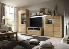 Wohnwand In Eiche Bianco Teilmassiv Mca-Furniture Anesa Holz Neutral Jetzt bestellen unter: https://moebel.ladendirekt.de/wohnzimmer/schraenke/wohnwaende/?uid=01188d74-d1c3-5bc1-8374-ebc473e5cf70&utm_source=pinterest&utm_medium=pin&utm_campaign=boards #schraenke #wohnw #wohnzimmer #wohnwaende