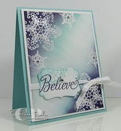 Brayered Snowflake Soiree Stamp Set  More information on this card: http://www.catherinepooler.com/2012/08/perfectly-preserved-stamp-set-and-orchard-harvest-dsp-3-in-the-series/  Video tutorial for this brayered card on www.thestampnation.com