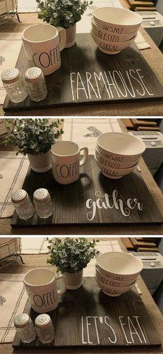 Rae Dunn, cups, mugs, bowls, diy decor, farmhouse, gifts, presents, kitchen, dining room #Farmhouse #raedunn #Christmasgift #signs #Christmaspresent #diydecor #homedecor #diycrafts #diygifts #ad #ss