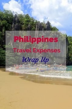 Our Philippines travel expenses wrap up - see how much we spent for one week on the island of Palawan