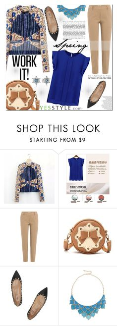 """""""Spring (Yesstyle)"""" by cherry-bh ❤ liked on Polyvore featuring Brunello Cucinelli, BeiBaoBao, Valentino, George J. Love and Pandora"""