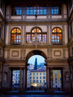 Galleria degli Uffizi Museumm #Florence