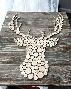 DIY your photo charms, compatible with Pandora bracelets. Make your gifts s… DIY your photo charms, compatible with Pandora bracelets. Make your gifts special. Wood Sliced Deer head Silhouette Wall Decor by ToplineDesignLLC Into The Woods, Teds Woodworking, Woodworking Projects, Woodworking Furniture, Woodworking Machinery, Woodworking Supplies, Woodworking Forum, Woodworking Books, Woodworking Basics