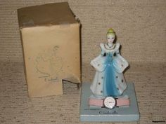 Vintage 1963 Walt Disney RARE Cinderella Watch w/ Figurine & Original Box - this made me think of aunt jilly Walt Disney Cinderella, Best Kids Watches, Communion Gifts, Disney Figurines, Ol Days, My Childhood Memories, Vintage Disney, The Good Old Days, Vintage Love
