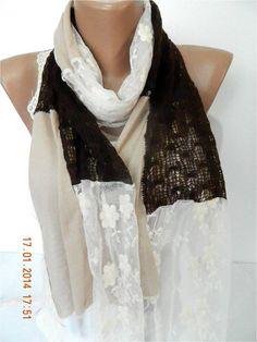 SALE  990 USD-Elegant scarf  Fashion scarf   by MebaDesign on Etsy