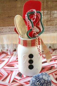 s 23 perfect mason jar gifts for everyone on your list, christmas decorations, crafts, mason jars, For Your Holiday Hostess