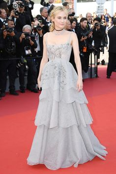 Cannes 2017: Every Red-Carpet Look  Diane Kruger in Christian Dior