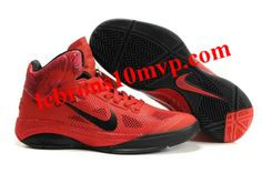 Nike Zoom Hyperfuse XDR 2010 Shoes Varsity Red/Black