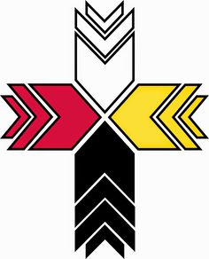 Native American Cross Drawings | Cross Logo of Lutheran Indian Ministries