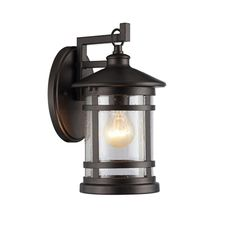 Purchase ABBINGTON Transitional Bronze 1 Light Outdoor Wall Sconce Tall from Benzara Inc on OpenSky. Outdoor Wall Lantern, Outdoor Wall Sconce, Outdoor Walls, Porch Lighting, Exterior Lighting, Outdoor Lighting, Transitional Wall Sconces, Transitional Decor, Carriage Lights