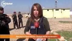 Shifa Garfi, en una foto de Twitter.  Muere una periodista que cubría en Mosul la ofensiva contra el ISIS La reportera Shifa Gardi falleció tras estallar una bomba al paso de su convoy. Su cámara está herido