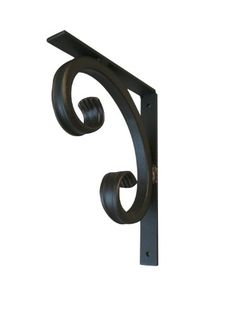 Door Handles Vintage, Metal Bending Tools, Metal Shelf Brackets, Blacksmith Projects, Iron Shelf, Metal Yard Art, Antique Iron, Curtain Designs, Glass Holders