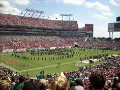 USF - University of South Florida Bulls - Raymond James Stadium used for home football games