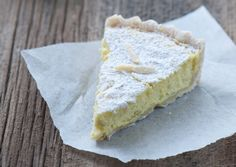 Done - Creamy Meyer Lemon, Bergamot Orange and Fresh Ricotta Tart