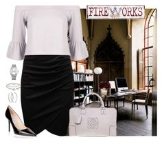 fire work by fashionlawyer on Polyvore featuring moda, Boohoo, Jimmy Choo, Loewe, Tiffany & Co., Calvin Klein and Pier 1 Imports