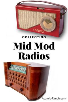 Get your Motorola running with a new collection of mid century broadcast ephemera. See more at Atomic-Ranch.com Transistor Radio, Atomic Ranch, Types Of Plastics, Mid Century Modern Decor, Mid Century Style, Letters And Numbers, Best Memories, Ephemera