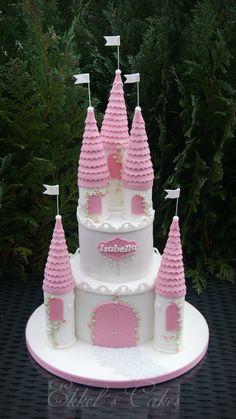 Castle Princess Cake торт замок принцессы
