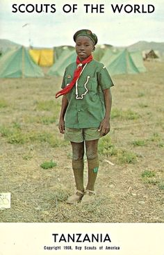 Scouts of the World Tanzania 1968