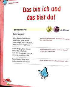Das bin ich und das bist du - Everything About Kindergarten Kindergarten Portfolio, Kindergarten Themes, Learn German, Kids And Parenting, Trauma, Montessori, Preschool, About Me Blog, Classroom