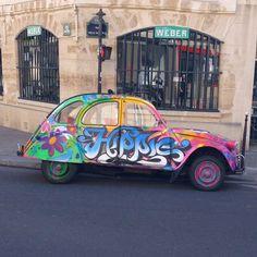 Hippies 2CV !!!