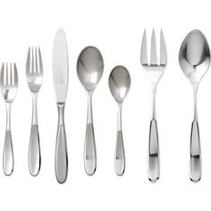 Dune Flatware in Flatware Patterns | Crate and Barrel