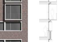 Hostel for the homeless in Esch/Alzette (L) | Paul Bretz Architects