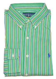 2b8cf760f6f Ralph Lauren Men Classic Fit Striped Pony Logo « Clothing Impulse Clothing  Logo