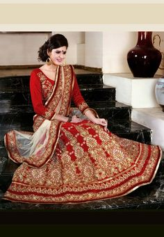 A Beautiful Lehenga for the beautiful bride
