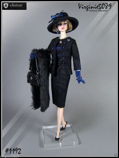 Tenue Outfit Accessoires Pour Fashion Royalty Barbie Silkstone Vintage 1192 | eBay