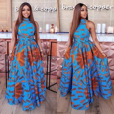 Beautiful African Ankara fashion Styles for Slay Queens To Slay Any Where You Find Yourself. These beautiful ankara styles are for slay queens in Nigeria, Ghana, Kenya, south africa and UK African Dresses Online, African Party Dresses, Short African Dresses, African Print Dresses, African Print Fashion, African Fashion Dresses, African Clothes, Ankara Fashion, Women's Fashion