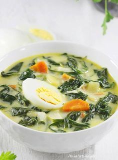 Spinach Soup, Favorite Recipes, Chicken, Cooking, Ethnic Recipes, Kitchen, Dinner Ideas, Foods, Diet