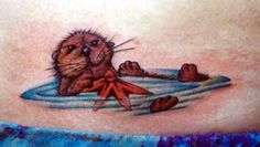 otter tattoo | Tattoos  Jeffrey Tarinelli  Page 1  Cute Otter Tattoo