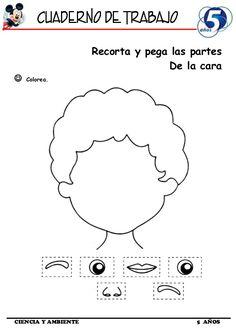Body Parts Preschool Activities, Body Preschool, Preschool Learning Activities, Free Preschool, Preschool Worksheets, Toddler Activities, Activities For Kids, Nursery Rhymes Preschool, All About Me Preschool