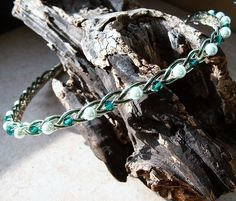 Irish Emerald Celtic Knot Wedding Headband
