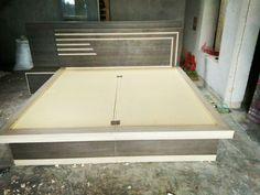 Wooden Pallet Furniture, Bedroom Furniture, Beautiful Bed Designs, Box Bed Design, Double Bed Designs, Room Design Bedroom, Modern Tv Wall Units, Partition Design, Modern Kitchen Cabinets