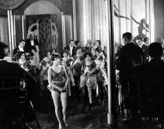 Louise Brooks and Adolphe Menjou in A Social Celebrity directed by Malcolm St. Clair, 1926