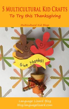 5 multicultural kid crafts to try this thanksgiving Kids Crafts Thanksgiving Activities For Kids, Craft Activities For Kids, Preschool Crafts, Thanksgiving Ideas, Easy Crafts For Kids, Crafts To Do, Kid Crafts, Multicultural Activities, Multicultural Classroom