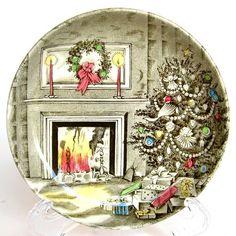 Christmas Coaster - Johnson Brothers - Merry Christmas@HighNotesVintage