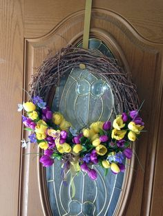 Mother's Day Wreath by Lorraine Golden