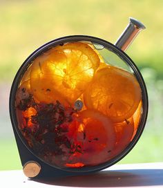 Orange hibiscus tea infusions - Tickety-boo Health Coaching