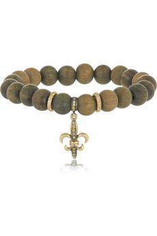 Loree Rodkin Sandalwood, 18-karat gold and diamond bracelet | NET-A-PORTER