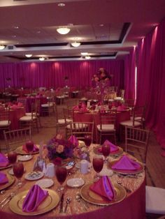 ... Hilton Garden Inn Lakeland. Ballroom In Hot Pink