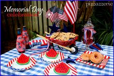 Memorial Day Table Cookout